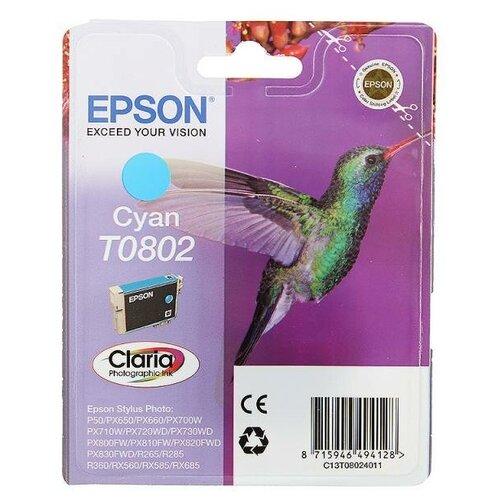 Фото - Картридж Epson C13T08024011 процессор intel g3220 cpu 3 0g 1150 h81 b85