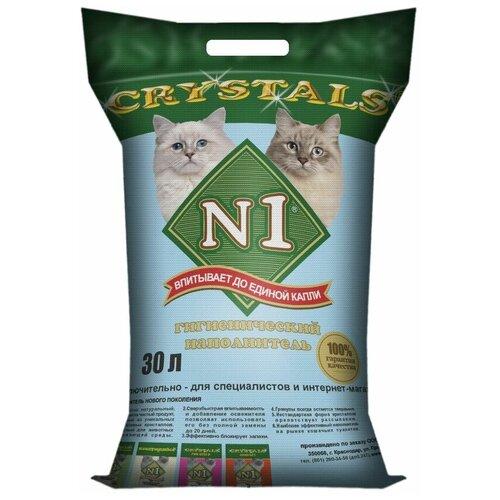 tea1733p n1 Впитывающий наполнитель N1 Crystals, 30 л