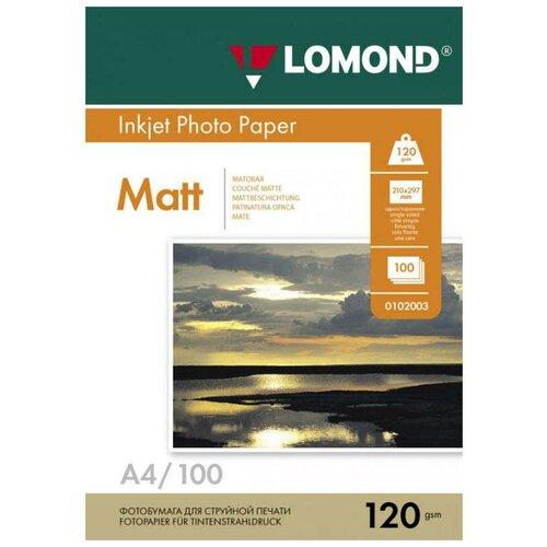 Фото - Бумага Lomond A4 Photo Paper 0102003 120 г/м² 100 лист., белый бумага lomond a4 photo paper 0102003 120 г м² 100 лист белый