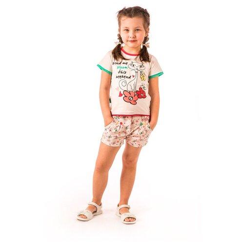 Шорты детские V-Baby, 44-007, белый 56(рост 104см)