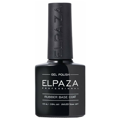 Купить ELPAZA базовое покрытие Rubber Base Coat 10 мл прозрачный