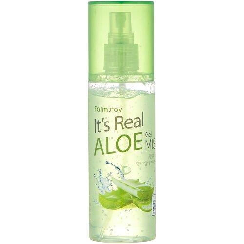 Купить Farmstay Мист для лица с экстрактом алоэ It's Real Aloe Gel, 120 мл