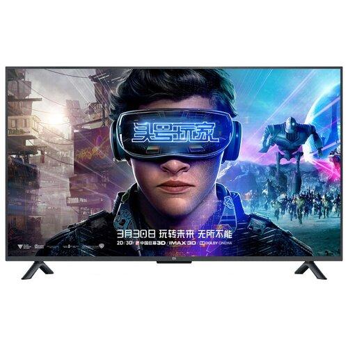 Фото - Телевизор Xiaomi Mi TV 4S 55 54.6 (2018), черный телевизор xiaomi mi tv 4s 65 t2s 65 2020 серый стальной