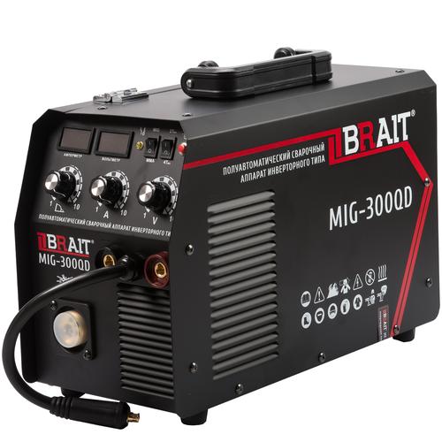 Инвертор сварочный полуавтомат Brait MIG-300QD