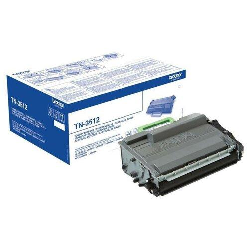 Фото - Тонер-картридж Brother TN-3512 (TN3512) чер.пов.емк. для HL-L6300/DCP-L6600 тонер картридж 7q tn 325c для brother hl 4150 голубой 3500 стр