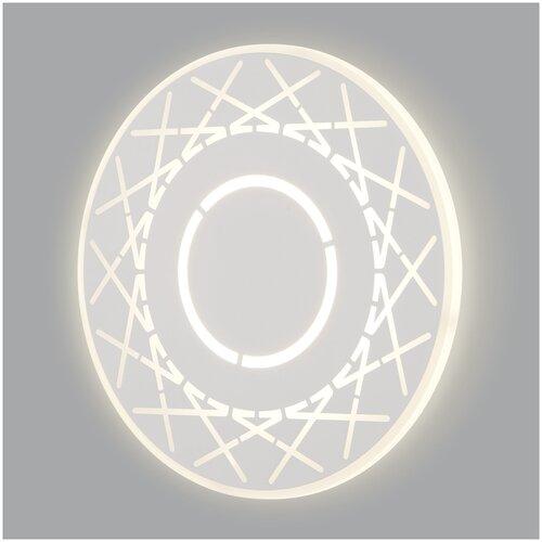 Фото - Настенный светодиодный светильник Eurosvet 40148/1 LED белый светильник eurosvet 90095 10 белый begonia