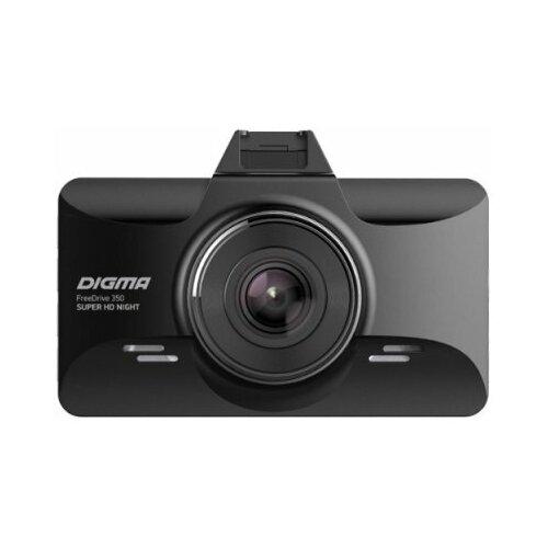 Автомобильный видеорегистратор Digma FreeDrive 350 Super HD Night Black