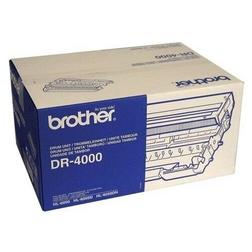Фото - DR-4000 Drum фотобарабан Brother, 30 000 стр., черный фотобарабан brother dr320cl drum