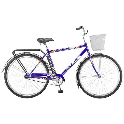 велосипед stels navigator 300 gent 28 z010 20 синий Городской велосипед STELS Navigator 300 Gent 28 Z010 (2019) синий 20 (требует финальной сборки)