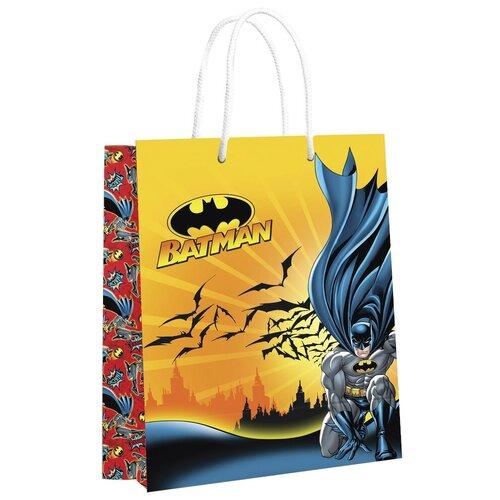 Фото - Пакет подарочный ND Play Batman 33.5 х 40.6 х 15.5 см желтый пакет подарочный nd play lol 25 х 35 х 10 см мятный розовый