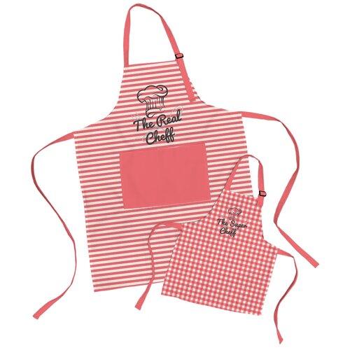 Комплект фартуки парные семья The Real Cheff sfer.tex 1766726