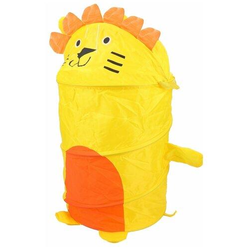 Фото - Корзина Наша игрушка Лев желтый растяжка наша игрушка 2203 красный желтый синий