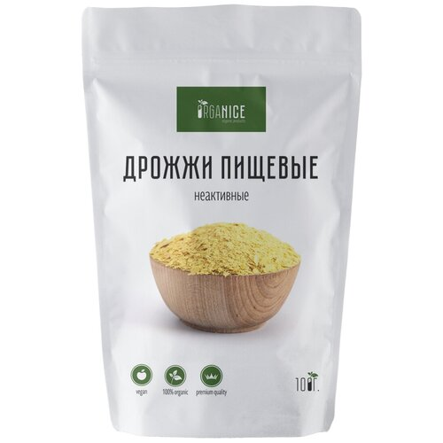 Дрожжи пищевые неактивные премиум Organice 100 г.