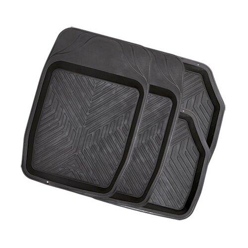 Фото - Комплект ковриков салона AUTOPROFI MAT-150 4 шт. черный комплект ковриков autoprofi pet602 4 шт черный
