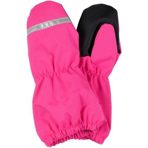 Купить Варежки KERRY Rain K21173 (однотонный) размер 6, 00267 фусия, Перчатки и варежки