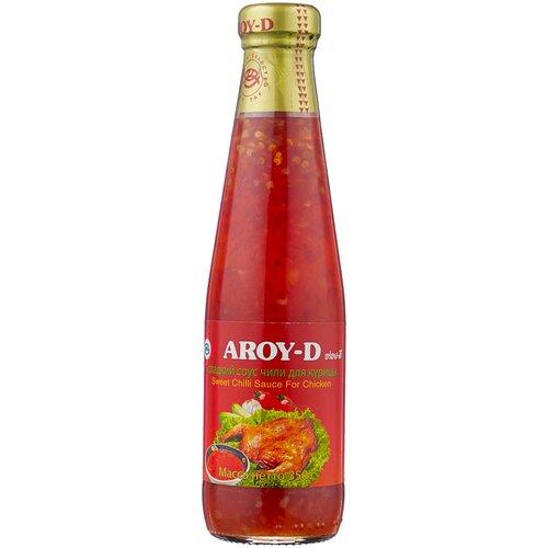 Соус Aroy-D Sweet chilli for chicken, 350 г сладкий соус чили для курицы aroy d 350 г