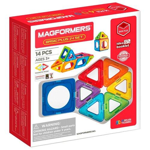 Купить Конструктор Magformers Basic Plus 715013-14, Конструкторы