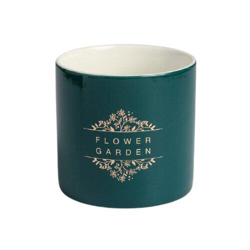Кашпо Дарите счастье Цветочный сад 8 х 7,5 см зеленый по цене 398