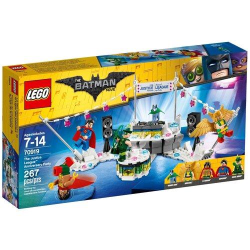 Конструктор LEGO The Batman Movie 70919 Вечеринка Лиги Справедливости