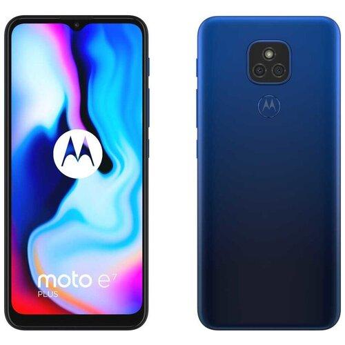 Смартфон Motorola Moto E7 Plus 64GB синий