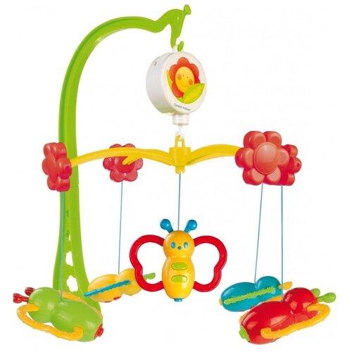 Купить Механический мобиль Canpol Babies Бабочки (75/003) зеленый/красный/желтый, Мобили