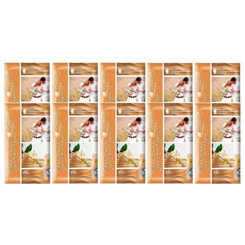 Фото - Влажная туалетная бумага Vestar для всей семьи с антибактериальным эффектом, 10 уп. по 20 лист. влажные салфетки vestar для всей семьи с антибактериальным эффектом 70 шт