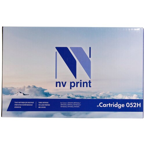 Фото - Картридж NV Print 052H для Canon, совместимый виктор иванов математические основы теории автоматического управления том 3 isbn 978 5 7038 3230 1 978 5 7038 2807 6