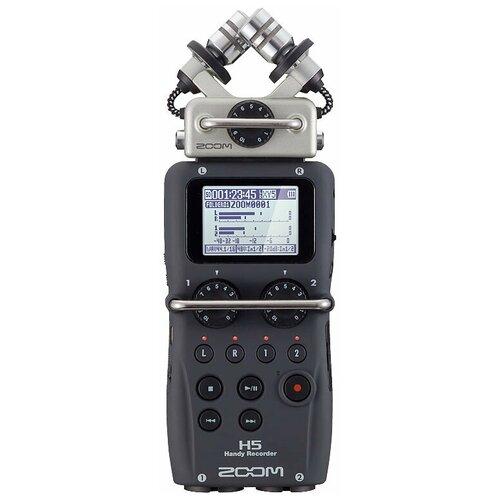 Портативный рекордер ZOOM H5 темно-серый