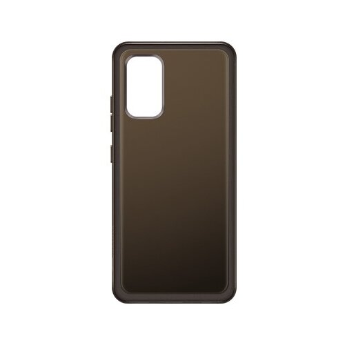 Фото - Панель-накладка Samsung Soft Clear Cover Black для Samsung Galaxy A32 ультратонкая защитная накладка soft touch для samsung galaxy a32 с принтом улыбка чеширского кота черная