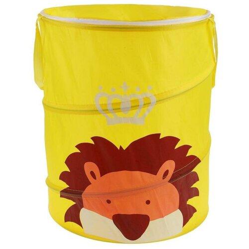 Фото - Корзина Наша игрушка Король лев желтый растяжка наша игрушка 2203 красный желтый синий