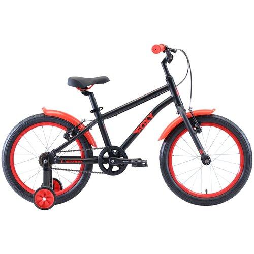 Детский велосипед STARK Foxy 18 Boy (2020) черный/красный (требует финальной сборки) недорого