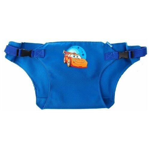 Купить Крошка Я Детский пояс-фиксатор Тачки , регулируемые ремни, цвет синий, Аксессуары для безопасности