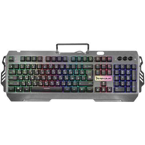 Игровая клавиатура Defender Renegade GK-640DL RU RGB Black USB