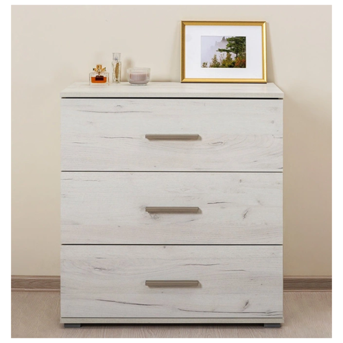 Комод mobi Санди 13.100 , размер: 75х38.3 см , цвет: дуб белый Craft
