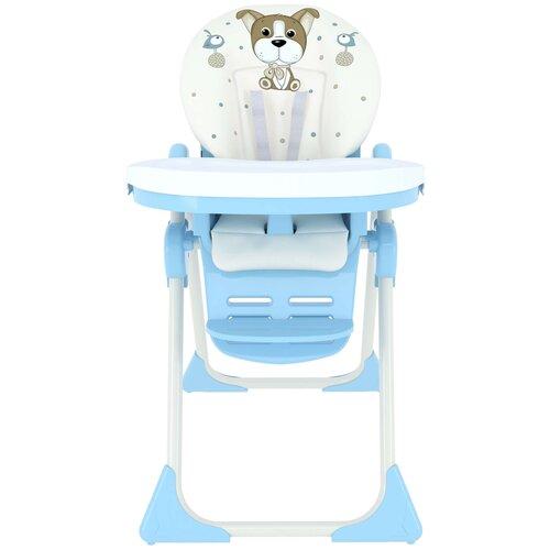 стул для кормления globex космик new белый Стульчик для кормления GLOBEX Космик, голубой