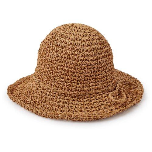 Купить 50634, Шляпа детская Happy Baby, пляжная, соломенная, size 51 , Головные уборы