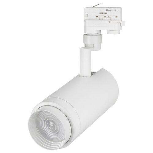 Трековый светильник-спот Arlight LGD-ZEUS-4TR-R100-30W White (WH, 20-60 deg) трековый светильник спот arlight lgd zeus 4tr r88 20w day bk 20 60 deg