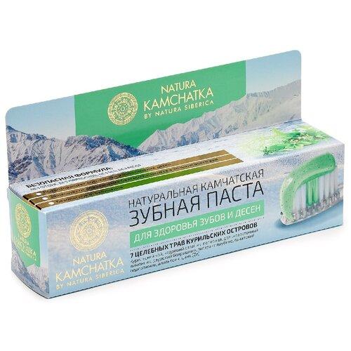 Зубная паста Natura Siberica Kamchatka Для здоровья зубов и десен, 100 мл зубная паста natura siberica для чувствительных зубов 100 мл