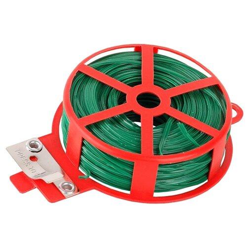Проволока GRINDA подвязочная 8-422341, 2000 см зелeный