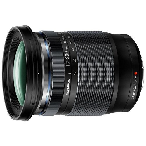 Фото - Объектив Olympus ED 12-200mm f/3.5-6.3 M.Zuiko Digital черный объектив olympus zuiko ed 40 150 mm f 4 0 5 6