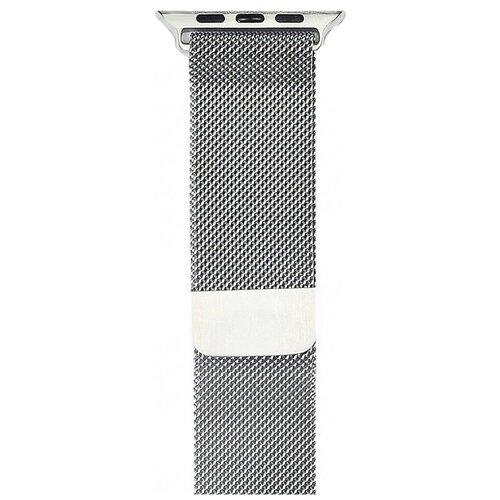 Gurdini Ремешок Milanese Loop миланское плетение для Apple Watch 38/40 мм аксессуар ремешок gurdini milanese loop для apple watch 42mm rose gold 904820