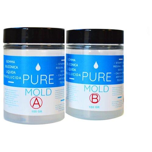 Полупрозрачный жидкий силикон Pure Mold 200 г, Resin Pro