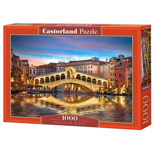 Купить Пазл Castorland Rialto by Night (C-104215), 1000 дет., Пазлы