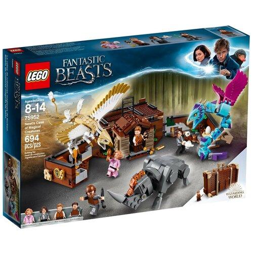 Конструктор LEGO Harry Potter 75952 Чемодан Ньюта Саламандера конструктор lego harry potter 75979 букля