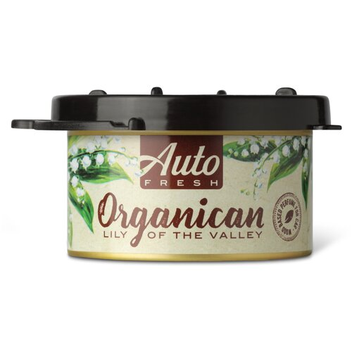 Auto Fresh Ароматизатор для автомобиля Organican Lily Of The Valley 60 г michel design works lily of the valley hand cream