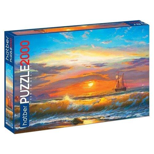 Купить Пазл Hatber Premium Морской вид (2000ПЗ1_16874), 2000 дет., Пазлы