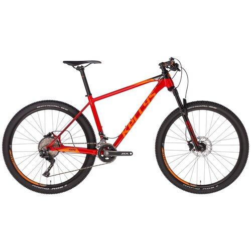 Фото - Горный (MTB) велосипед KELLYS Gate 70 27.5 (2019) красный M (требует финальной сборки) велосипед haibike affair 8 70 2016