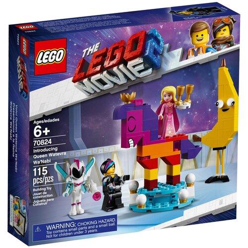 lego Конструктор LEGO The LEGO Movie 70824 Познакомьтесь с королевой Многоликой Прекрасной