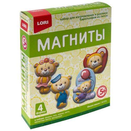 LORI Магниты из гипса Милые мишки (М-074)