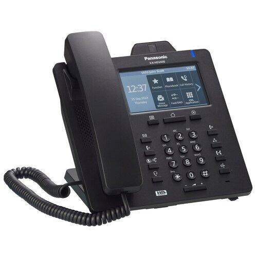 VoIP-телефон Panasonic KX-HDV430 черный voip телефон panasonic kx nt553 черный